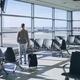 Traveler in airport terminal - PhotoDune Item for Sale