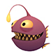 Angler Fish - 3DOcean Item for Sale