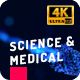 Medical Science 4K Logo Intros - VideoHive Item for Sale