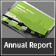 Landscape Annual Report Template - GraphicRiver Item for Sale