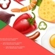 Realistic Healthy Food Colorful Composition - GraphicRiver Item for Sale