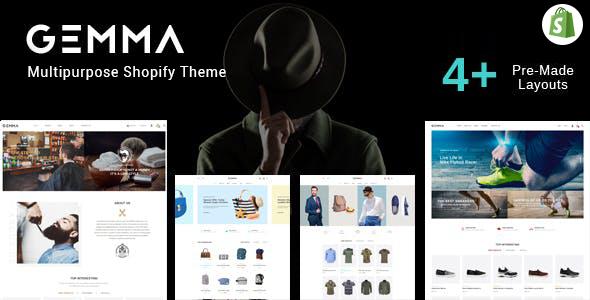 Gemma – Multipurpose Shopify Theme