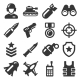 Army, Military and War Icons Set - GraphicRiver Item for Sale