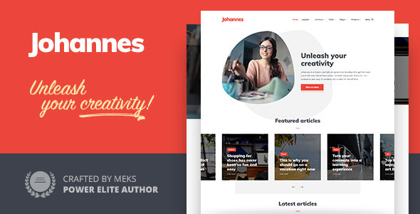 Johannes - Personal Blog Theme for Authors and Publishers