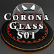 60 x Corona Glass Materials for Cinema 4D