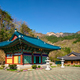 Sinheungsa temple in Seoraksan National Park, Soraksan, South Korea - PhotoDune Item for Sale