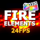 Fire Elements Pack - VideoHive Item for Sale