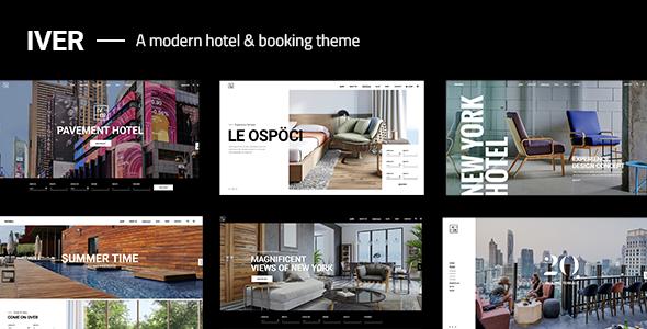 Iver - Modern Hotel Theme