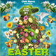 Spring and Easter Party Flyer Template - GraphicRiver Item for Sale