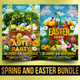 Spring and Easter Bundle - GraphicRiver Item for Sale