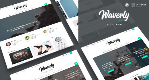 WordPress Blog & Magazine Theme
