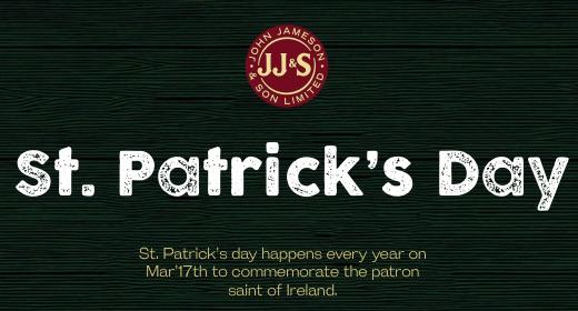 Jameson St Patricks Day