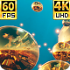 Golden Vj Tunnel  4k 60fps - VideoHive Item for Sale