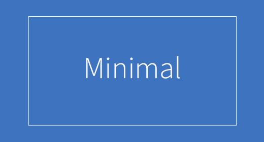 Minimal by GreenGlass