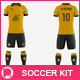 Men's Full Soccer Team Kit Mockup V8 - GraphicRiver Item for Sale