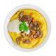 Beef stroganoff over polenta isolated - PhotoDune Item for Sale