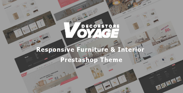 Bos Voyage - Art Furniture Prestashop Theme for Home Decor & Wooden