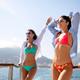 Beautiful happy women in sexy bikini enjoying summer vacation - PhotoDune Item for Sale