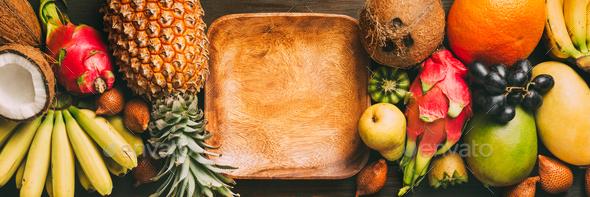 Fresh exotic fruit - Stock Photo - Images
