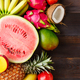 Summer background with ripe fruit - PhotoDune Item for Sale