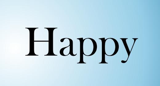 Happy by AudioZen