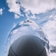 Reflection of sky on airplane - PhotoDune Item for Sale