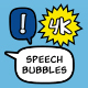 Adjustable Speech Bubbles - VideoHive Item for Sale