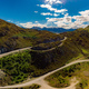 Panoramic drone photos of Lake Hawea and mountains, South Island - PhotoDune Item for Sale