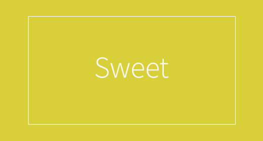Sweet by YellowBus