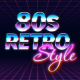 Retro Wave Logo Reveal - VideoHive Item for Sale