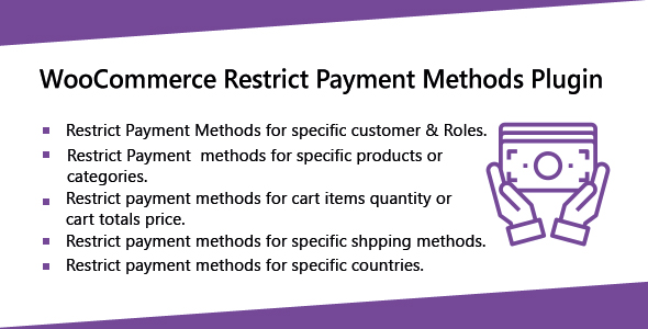 Download WooCommerce Restrict Payment Methods Plugins Free Nulled