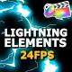 Flash FX Lightning Elements - VideoHive Item for Sale