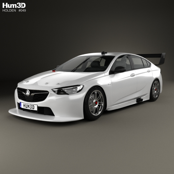 Holden Commodore (ZB) Supercar V8 2017 By Humster3d