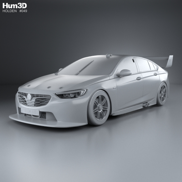 Holden Commodore Zb Supercar V8 2017 By Humster3d: Holden Commodore (ZB) Supercar V8 2017 By Humster3d
