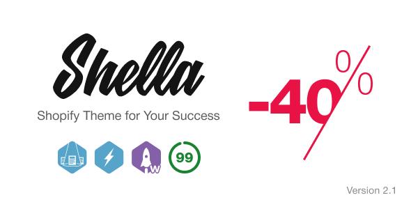 Shella - Ultimate Fast Responsive Shopify theme