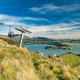 Christchurch Gondola and the Lyttelton port from Port Hills in N - PhotoDune Item for Sale