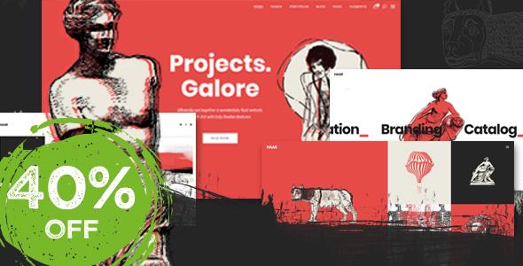 Haar - Portfolio Theme for Designers, Artists and Illustrators