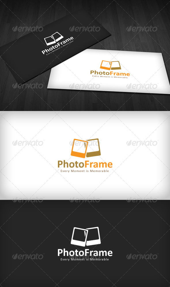 Photo Frame Logo - Objects Logo Templates