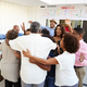 Three generation black family welcoming grandparents to a surprise party - PhotoDune Item for Sale