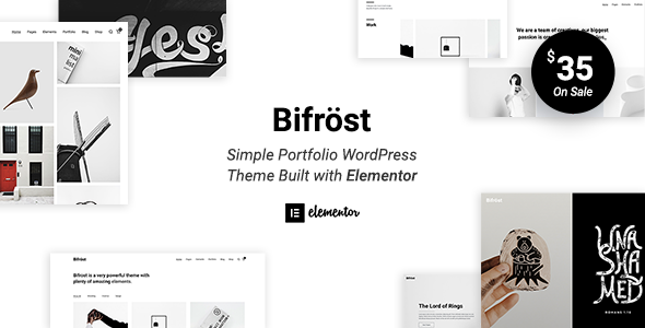 Bifrost - Simple Portfolio WordPress Theme