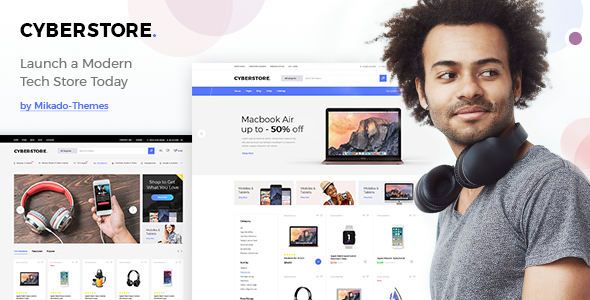 CyberStore - Simple eCommerce Shop