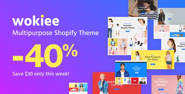 Wokiee - Multipurpose Shopify Theme