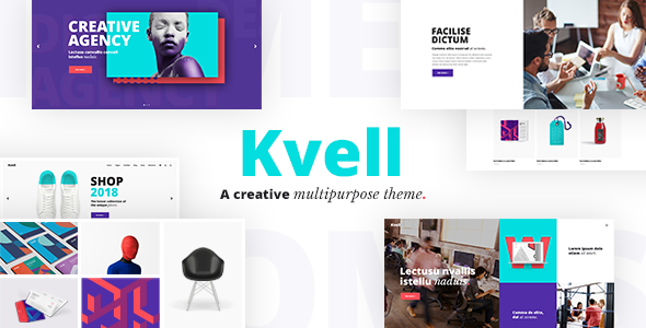 Extraordinary Kvell - A Creative Multipurpose Theme for Freelancers and Agencies