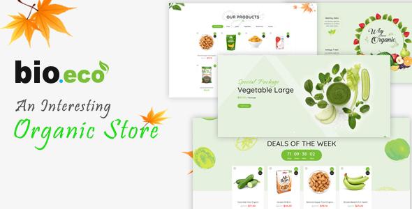 BioEco - An Interesting Organic Store Prestashop Themes