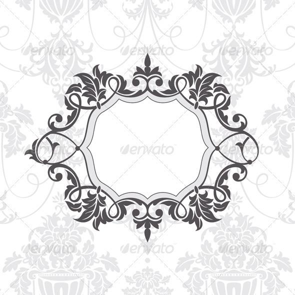 Retro Frame - Borders Decorative