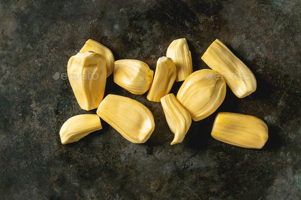 Ripe peeled jackfruit - Stock Photo - Images