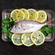 Fresh fish with lemon - PhotoDune Item for Sale