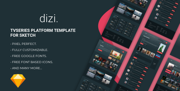 Dizi - TV Series Platform Template