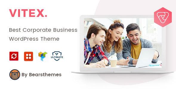 Vitex – Corporate Business WordPress Theme Free Download