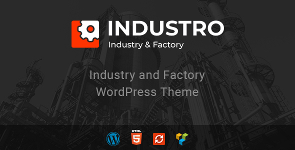 Industro – Industry & Factory WordPress Theme